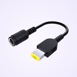 cavo lenovo usb Sconti Caricabatterie Convertitore di corrente Adattatore per cavo da 7,9 mm Round Jack a 5,5 mm Alimentatore con estremità quadrata per Lenovo ThinkPad X1Carbon