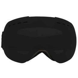 62fe9c9c53b ski goggles yellow lens 2019 - Ski goggles double Lens UV400 anti-fog Skiing  eyewear