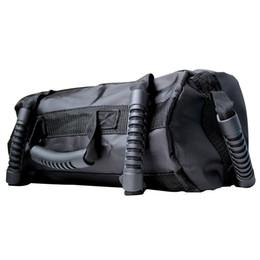 Bolsas de arena de nylon online-Nylon Sacos de arena 90LB Negro bolsa de boxeo de formación bolsos de Crossbody de alta calidad 5-BillionFitness