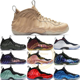 Zapatos de baloncesto subieron online-Foam One Pro OG Men Basketball Shoes Alternate Galaxy Black Gum Metallic Gold Element berenjena Camo Rose Galaxy 1.0 Sport Sneakers 8-12