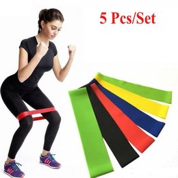 widerstandsbandschlaufe crossfit Rabatt Tension Resistance Band Pilates Yoga-Widerstand-Bänder Gummi Fitness-Schleife Seil Stretch Bands Crossfit Elastic Gym Training Tools FY7008