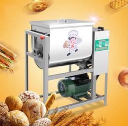 Argentina Mezcladora de masa automática Capacidad de 25 kg Máquina de mezcla de soporte con gancho para pasta, batidor, tazón de acero inoxidable Mezclador de cocina Mezclador LLFA supplier machine hook Suministro
