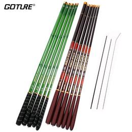 Красный карп онлайн-Goture BREEZE / RED- Stream Удочка из углеродного волокна Tenkara Удочка для удилища Carp Rod 3.6M 4.5M 5.4M 6.3M 7.2M