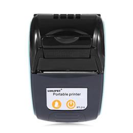 PT 210 58MM Bluetooth Thermodrucker beweglicher drahtloser Empfang Maschine für Windows Android iOS Mini Bluetooth Drucker 3 von Fabrikanten