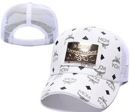 Cappellini da baseball da uomo di nuovo stile Cappelli di lusso di nuovo stile Oro Ricamo di ossa Uomini Donne casquette Cappello da sole di papà gorras Snapback sportivo Cap hip hop da
