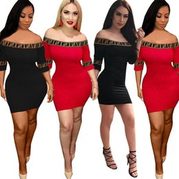 sheer pocket Coupons - Double F Women's Short Sleeve Dress Flat Off Shoulder Patchwork Bodycon Tight Skinny Skirt Striped Sports Club Party Dresses Fashion C5702