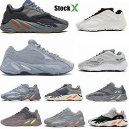 adidas yeezy boost 700 v2 v3 yeezys yezzy chaussures de sport de kanye runner hôpital femmes sarcelle tlue x stock formateurs kanye chaussures en