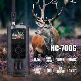 HC700G 3G Av Trail Kamera Full HD 16MP 1080PMMS GPRS Fotoğraf Tuzak Gece Görüş İzci Vahşi Hayvan Kamera nereden ev gizli kamera videoları tedarikçiler
