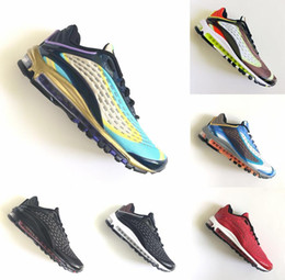 35e97bee3ac21e New Skepta x Maxes Deluxe og 99 Midnight Blue TPU Men Running Air Cushion  Shoes Mens Womens Trainers SK BW 99s Trainers 97 Sneakers 40-45