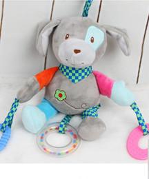2019 brinquedos para bebés Hot Mobile Stroller Carrinhos De Pelúcia Jogando para Bonecas Brinquedo Cama Vento Chocalhos Berço Cama Sinos Pendurados Brinquedos para Newbrons C brinquedos para bebés barato