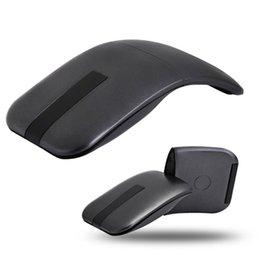 2019 cerniere delle finestre Ultra Slim Mice 180 ruotabile cerniera tocco senstive 1600DPI 2.4G mouse senza fili di connessione 2.4G LED infrarossi per Windows sconti cerniere delle finestre