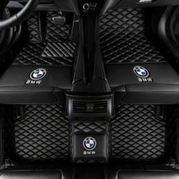 2020 alfombras de piso bmw For Fit BMW 5 Series F10 E60 2008-2018 Alfombras impermeables Alfombras antideslizantes Alfombras antideslizantes Alfombras alfombras alfombras de piso bmw baratos