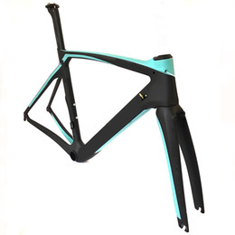 Oem bicicleta de estrada de carbono on-line-2019 recém bike OEM Bicicleta de Estrada de Carbono Quadro UD Weave BB386 Bicicleta Frameset quadros de corrida de bicicleta tamanho XXS / XS / S / M / L / XL Ultraleve quadro