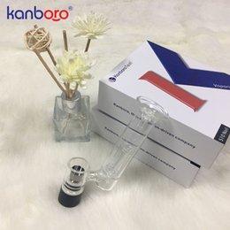 caja de mod rig Rebajas Kanboror vaporizador de cera portátil 510nail Ceramic Titanium bobina de cera dab rig recargable 510 nail thread cera dab nail se adapta a la caja mod