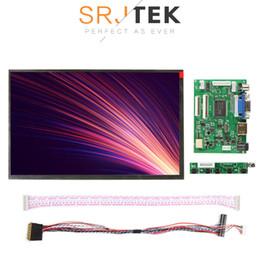 2019 drivers de vídeo lcd 10.1 IPS para Monitor de Raspberry Pi 1280 * 800 TFT HSD101PWW1 Display LCD Placa de Driver Remoto HDMI 2AV VGA N101ICG-L21 desconto drivers de vídeo lcd