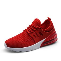 Calzado de primavera para hombre online-Zapatos casuales de promoción para hombre primavera y otoño fascinantes Zapatillas deportivas para hombre Run Sport