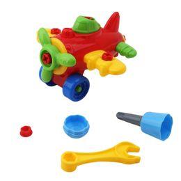 Canada Démontage Assemblage Voitures Classiques Jouets Bébé Voiture En Plastique Avion Jouet Début Puzzle Jouets Éducatifs Pour Enfants Enfants Cadeaux cheap assembly toys Offre