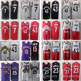 Pascal 43 Siakam Fred 23 VanVleet Leonard Vince Toronto Jersey 15 Carter 7 Lowry Raptors Marcus 1 McGrady Raptors jersey da