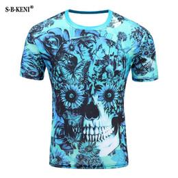t-shirt clown mann Rabatt 2019 neuer Druck-Zombie-Clown 3d der Art-Mann-T-Shirt 3d T-Shirts Poker Anime Hip Hop SLE