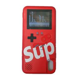 suporte para cartão nexus case Desconto SUP consolas de jogos portáteis tpu silicagel phone case capa 36 clássico jogador do jogo recarregável para iphone678 plus xr x xs max