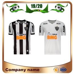 5ef1dcecff7c06 2019 Maglia da calcio Brasile Atletico Mineiro 19/20 Mineiro Home # 10  R.OLIVEIRA # 9 Maglia da calcio V.CHARA Away Maglia da calcio bianca