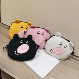 2019 borsa morbida korea Charm2019 Corea Ins Adorkable Bella Piggy Oblique Satchel Giapponese Chic Soft sorella sorella borsa Studente singola spalla pacchetto borsa morbida korea economici