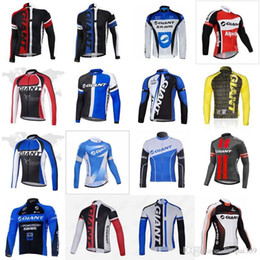 4bc34626a18ce8 2019 bergbekleidung kleidung Giant team radfahren langarm trikot frühling  herbst fahrrad clothing mountainbike tragen outdoor-