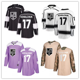 LA Los Angeles King jerseys  17 Ilya Kovalchuk Jersey hockey men women youth  black home white away Premier gray Alternate stitched Jerseys c19cff51f