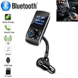 Transmetteur FM sans fil pour voiture Adaptateur radio Appel à main libre avec microphone intégré Lecteur de MP3 pour le bruit sans fil ? partir de fabricateur