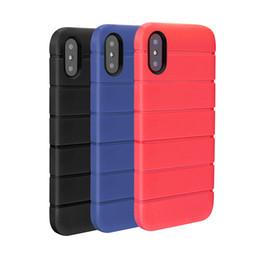 Capas de telefone antiderrapantes on-line-Caso para apple iphone x 6 6 s 7 8 além de antiderrapante tpu tampa traseira resistente à sujeira capa protetora celular caso