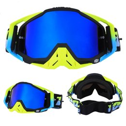 Motocicleta capacetes óculos on-line-Original novo óculos de carro de motocross ATV Casque capacete óculos de motocicleta óculos de corrida motocicleta bicicleta óculos de sol