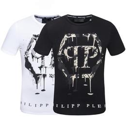 2019 matemáticas navidad camiseta de los hombres verano 2019 Nueva camiseta de Europa y América camiseta de los hombres moda hip hop impresión skul algodón hombres camiseta