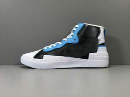 2019 nouveauté Blazer Mid High sacai Blanc Noir Légende Bleu Avec Les chaussures de course à pied Dunk Snow Beach ? partir de fabricateur