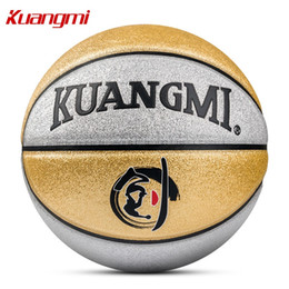 Kuangmi Shiny Kids Basketball ball PU Leather Size 5 Game indoor and outdoor  Balls Children Training child gift  255856 d8fbf0d221e0f