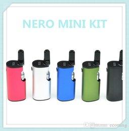 Kit mod. Mini Box originale Nero 100% Kit preriscaldatore VV Batteria 650mAh Preheat Variable Volt da mini volt mod fornitori