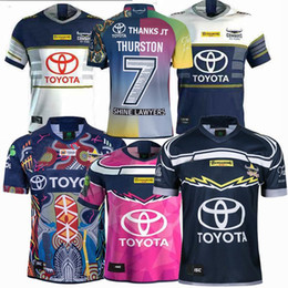 Novo 2018 2019 2020 2021 Cowboys 25 anos edição lembrança de rugby Jerseys NRL Rugby League jersey Cowboy 19 20 21 camisas S-3XL de