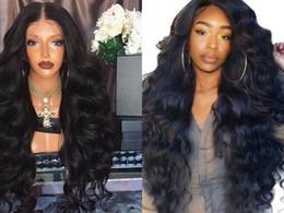 Deutschland Lange tiefe Welle Frisur Kunsthaar Europäische und amerikanische Damenseitenpunkte im Wellenhaar Big Wave Black Curly Hair Versorgung