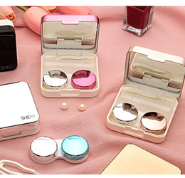 Eyewear Accessories Just Easy Carry 1pc Travel Glasses Contact Lenses Box Contact Lens Case For Eyes Care Kit Holder Container Gift Drop Ship #