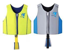 maglia di forza Sconti Giubbotto di salvataggio per bambini di galleggiamento Giubbotto di salvataggio ad alta resistenza per sport acquatici Nuoto da surf S / M / L Gilet di sicurezza per bambini