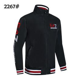 Chaquetas coreanas online-2019 Primavera Otoño Nuevo estilo para hombre Marca Casual Wear E @ 7 versión coreana de los hombres de la tendencia relajado ocio chaqueta delgada tamaño M-2XL