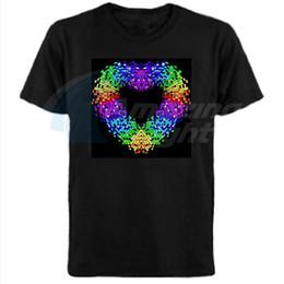 Wholesale Conception de coeur Hot vente unisexe coton el son actif t shirt conduit son actif t shirt avec inverseur DC3V