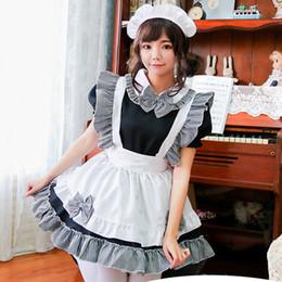 2019 kostüm ver 2019 neueste cosplay lolita kleid japanischen kawaii kostüm maidservant kleider prinzessin-kleid lolita schürze kleid cosplay kleid