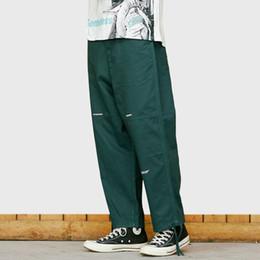 Pantalones de hombre de estilo de japón online-2019 Hip Hip Pant Harajuku Streetwear Japonés Hombres Pantalón Recto Estilo de Japón Joggers Pant Verano Primavera Pantalones Ropa HipHop