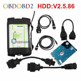 ferramenta de diagnóstico de caminhão grátis Desconto V2.5.86 Para 88890300 Vocom Interface Caminhão Ferramenta De Diagnóstico Para / UD / Mack / Vocom Atualização Online Navio Livre