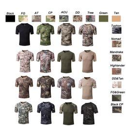 Outdoor Woodland Jagd Shooting Shirt Schlacht Kleid Uniform Tactical BDU Armee Kampf Kleidung Quick Dry Camouflage T-Shirt SO05-107 von Fabrikanten