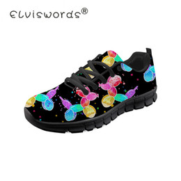 Argentina ELVISWORDS Balloon Dogs Design Sneaker For Teenager Girls Sports Casual Pisos transpirable Vulcanized Shoes Cool Women Footwears supplier shoes dog designs Suministro