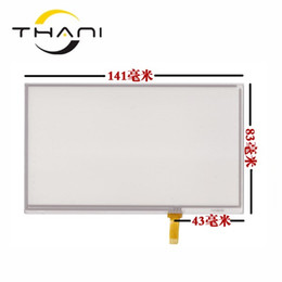 электронная навигация Скидка 6''inch 141*83mm touchscreen E road traffic navigation GPS touch screen panel Glass digitizer panel Repair replacement+tools
