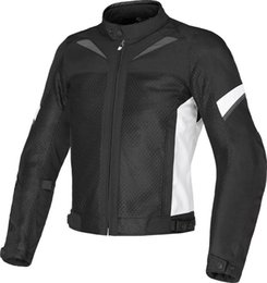 street gears Promo Codes - Mesh Dain Air-3 Jacket Motocross Riding Street Motorcycle Protective Gear Moto Jackets With Protector