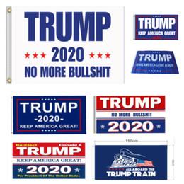 decoracion de banderas Rebajas Banderas Bandera Trump 2020 la bandera de América de nuevo por el presidente EE.UU. Donald Trump 2020 Elección de la bandera de la bandera de la decoración 90 * 150cm de fiesta HH7-1988