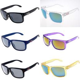 Uv sonnenbrille fischerei online-Nail Sonnenbrille 19 Farben Vintage Mode-Anti-UV-Sommer Outdoor-O Beach Sonnenbrillen Fahren Angeln Brillen LJO6956